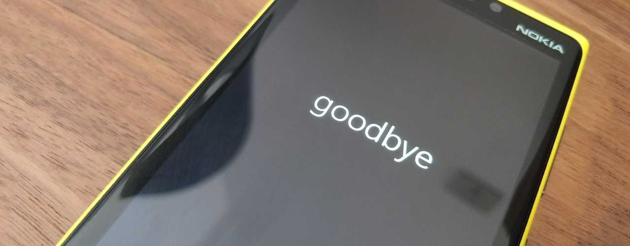 Windows Phone is (officially) dead!